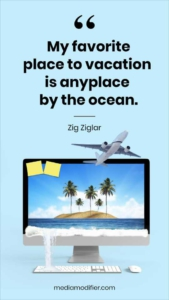 Vacation Quote Instagram Story Template