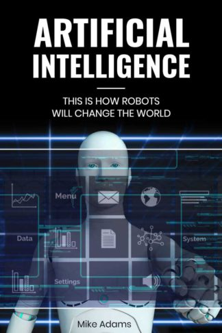 Artificial Intelligence Book Cover Template