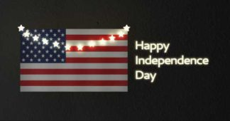 Independence Day Greeting LinkedIn Post