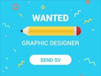 Wanted Graphic Designer Facebook Post