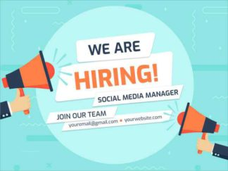 We are Hiring Facebook Post Template