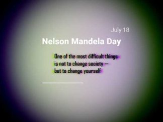 Nelson Mandela Quote Facebook Post