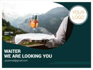 Waiter We Are Looking You Facebook Post