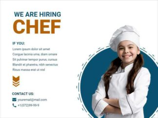 We are Looking Chef Facebook Post