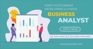 Business Analyst Hiring LinkedIn Post