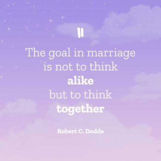 Dreamy Marriage Quote Instagram Post Template