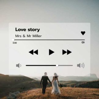 Love Music Playlist Instagram Post Template