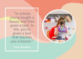 School and Education Motivational Quote