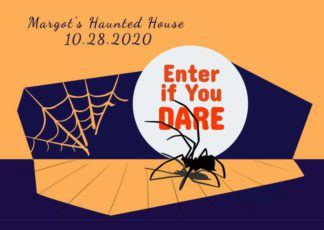 Halloween Invitation Card Template