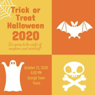 Trick or Treat Invitation Template