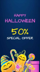 Halloween Discount Sale Instagram Story