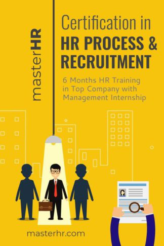 HR Process eBook Cover Template