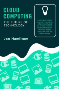 Cloud Computing Book Cover Template