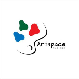 Art and Space Logo Template