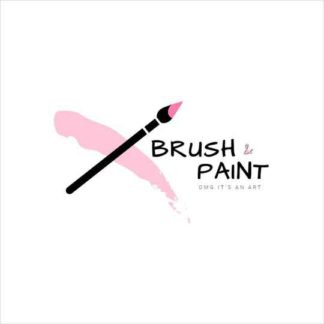 Brush and Paint Logo Template