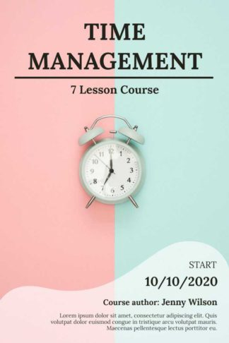 Book Cover for Time Management