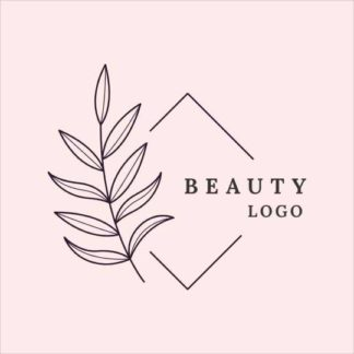 Beauty and Leaf Logo Template
