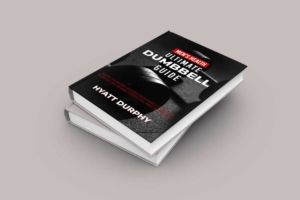 Dumbbell Gym Workout Book Cover Template