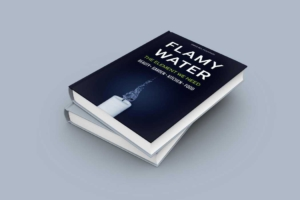 Water and Flame Book Cover Maker