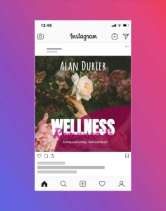 Wellness Relaxing Instagram Post Design