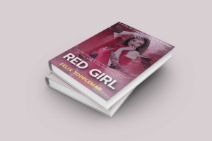 Red Girl Book Cover Templates