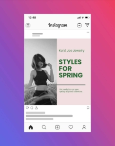 Fashion and Clothing Brand Instagram Post