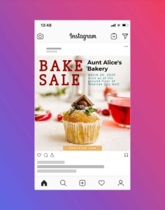 Food and Bakery Sale Instagram Post