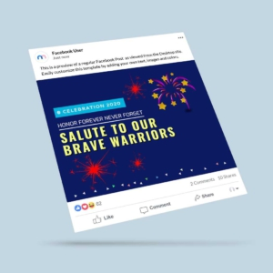 Celebration Day Facebook Post Template