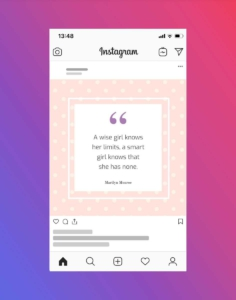 Quote Instagram Post Template