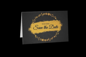 Save the Date Greeting Card Template
