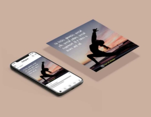 Fitness Motivation Instagram Post Template