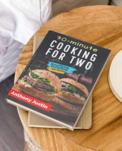 Cooking for Two Recipe eBook Cover Maker