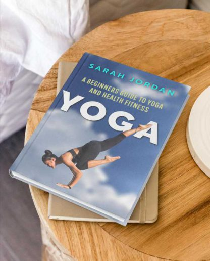 Yoga and Fitness Workout Book Cover