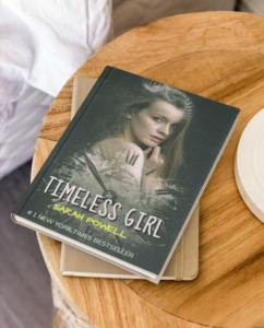 Lonely Girl Book Cover Template