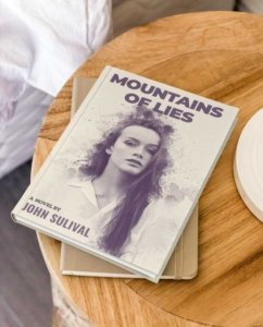 Mountains of Lies Book Cover Template