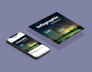 Infographic And Statistics Instagram Post Template