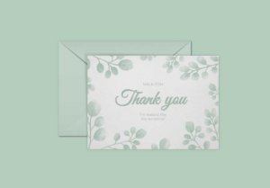 Special Event Greeting Card Template