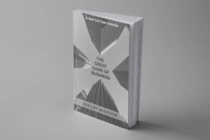 Black and White Business Book Cover