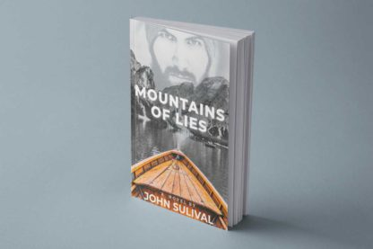 Over the Mountains Book Cover Template