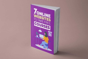 Online Learning Book Cover Template
